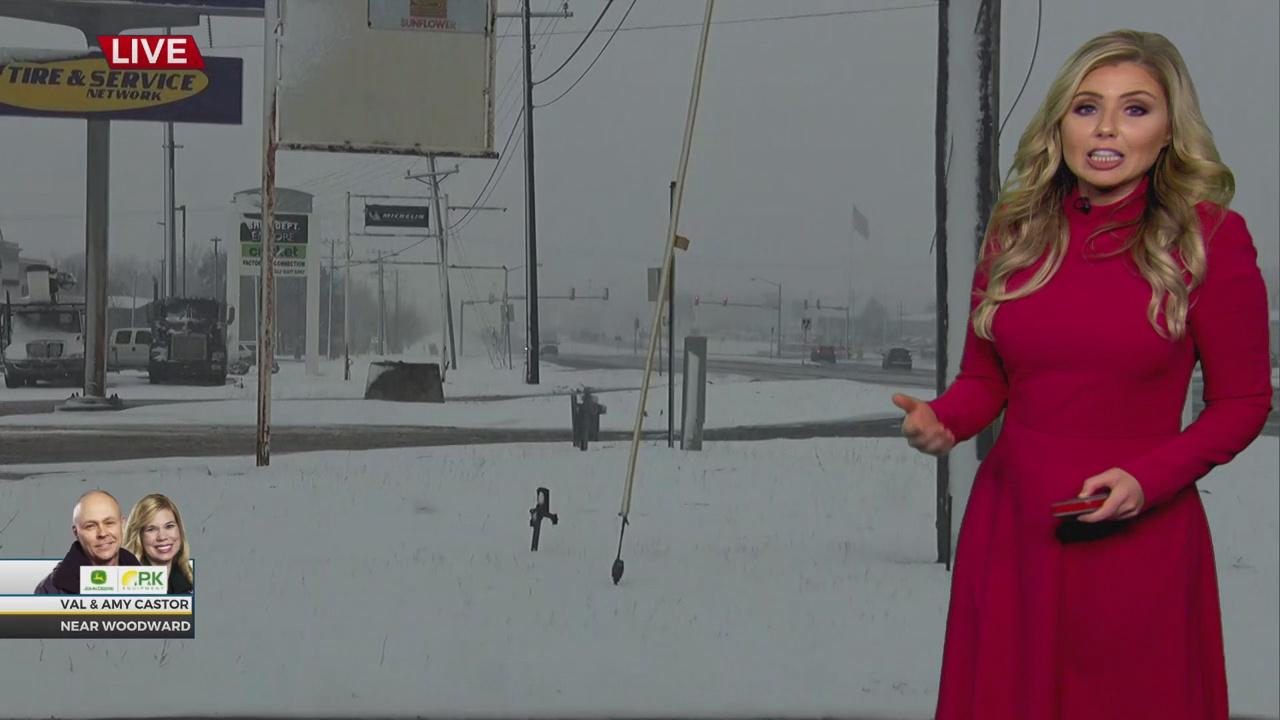WATCH: News 9 Winter Storm Update (1:25 p.m.)