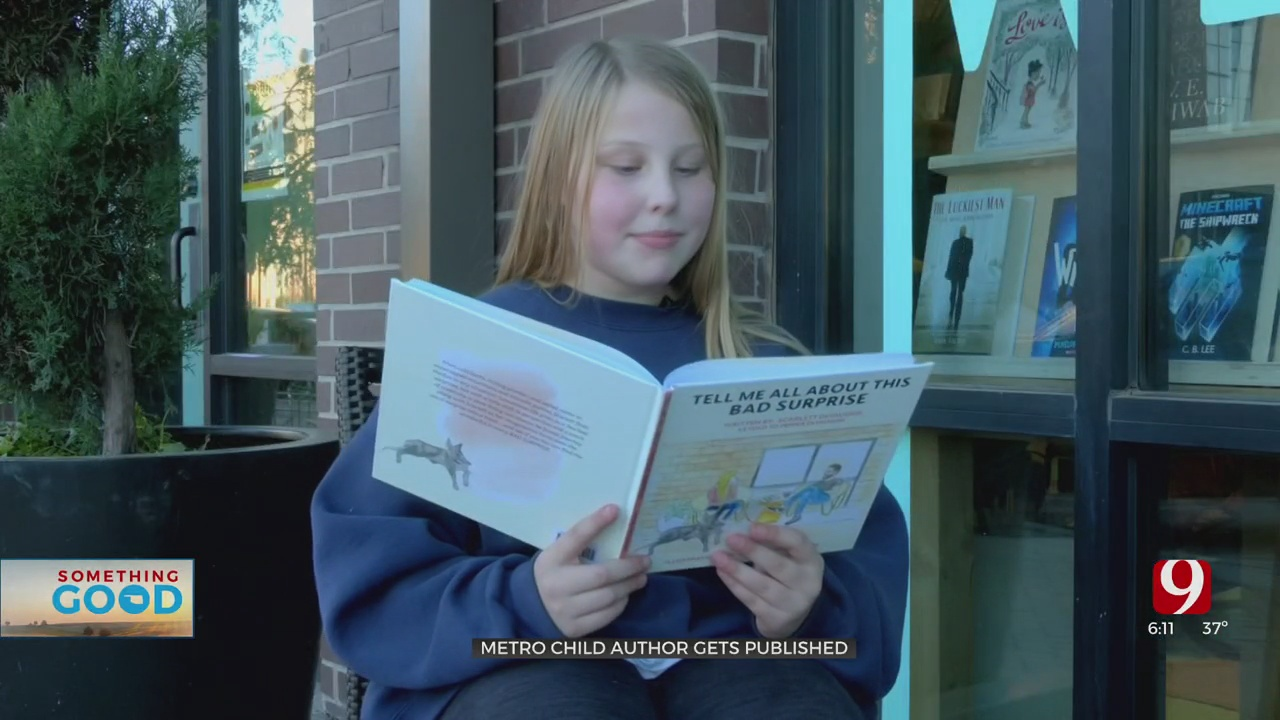Something Good: Young Author Writes Pages Of Positivity