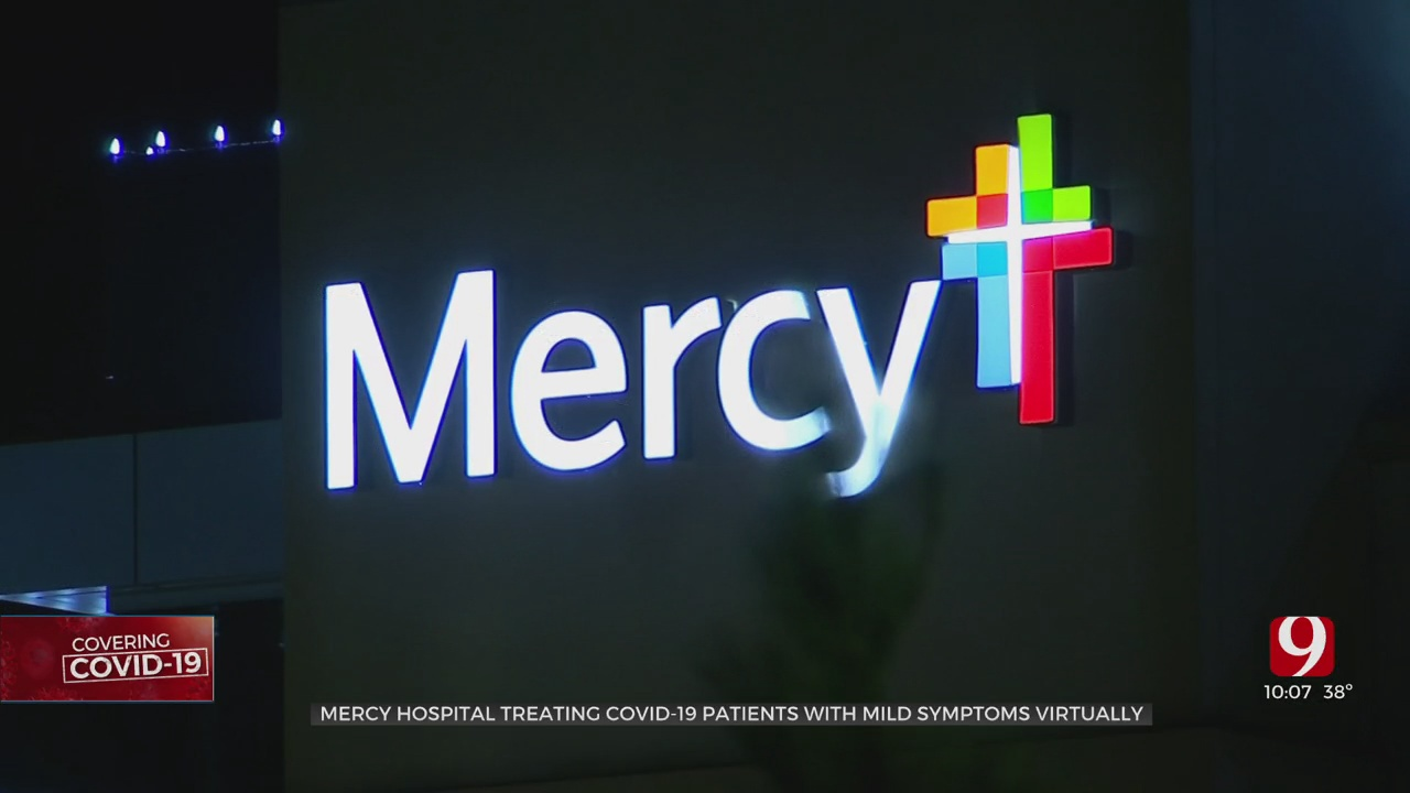 Mercy Hospital Treating COVID-19 Patients With Mild Symptoms Virtually