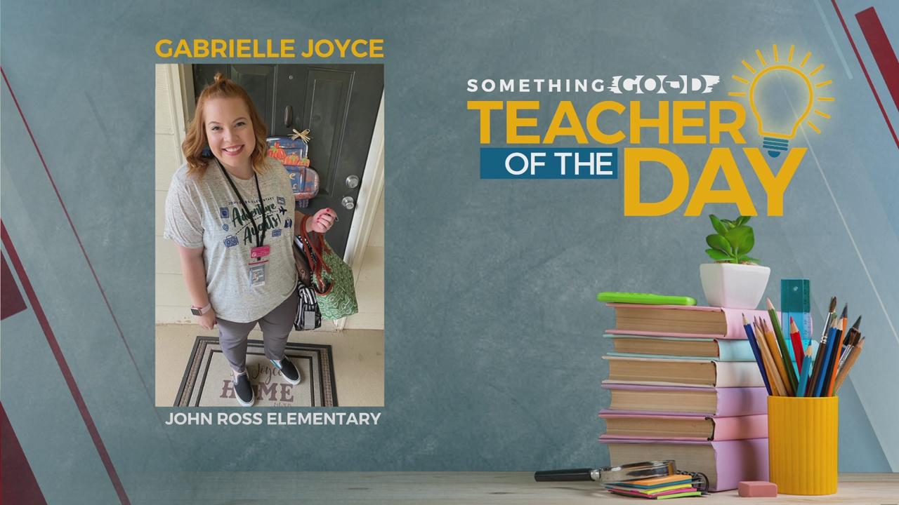 Teacher Of The Day: Gabrielle Joyce
