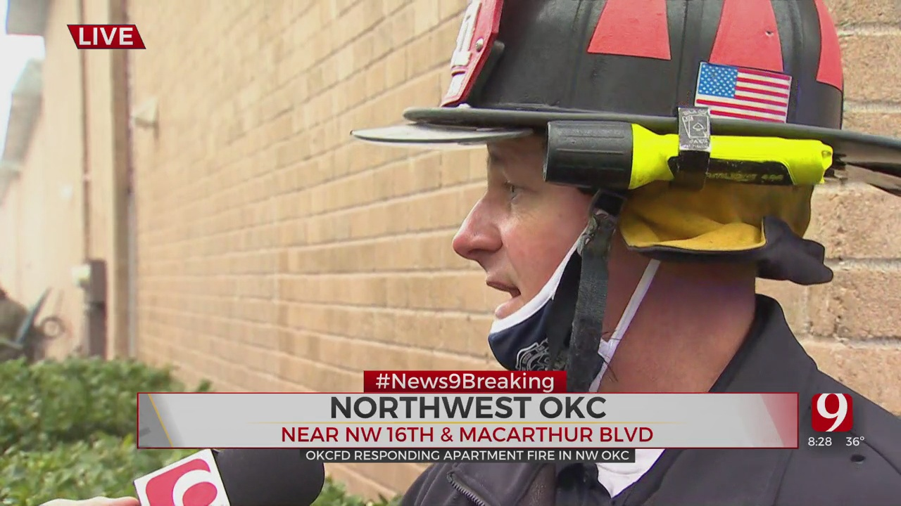 OKCFD Comments On NW OKC Apartment Fire