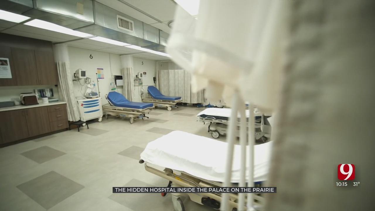 Hidden Hospital Underground At OU's Gaylord Memorial Stadium