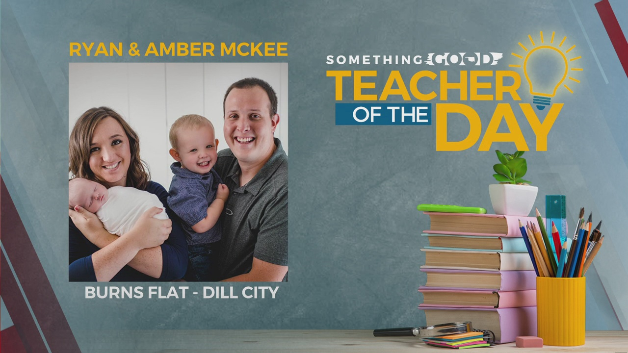 Teachers Of The Day: Ryan & Amber Mckee