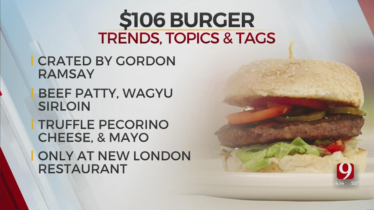 Trends, Topics & Tags: $106 Burger