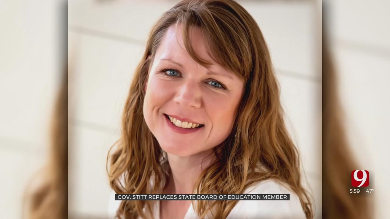 Gov. Stitt Replaces State School Board Member With Anti-Mask Advocate, Former Educator