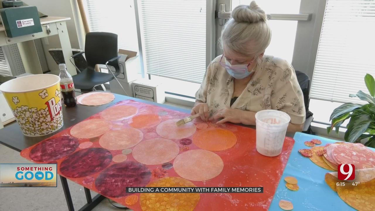 Seniors Create Family Inspired Art At South OKC Health Center