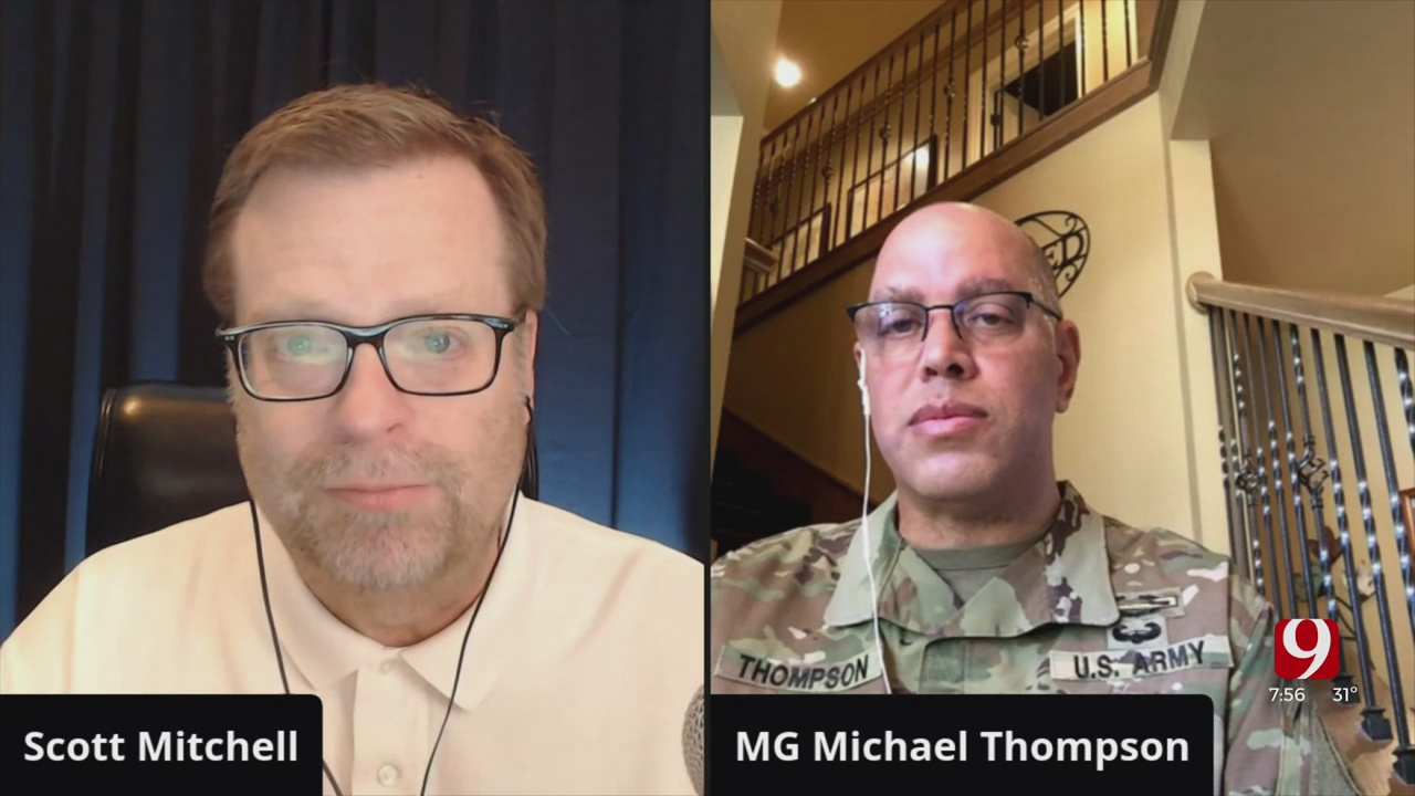 The Hot Seat: National Guard Stresses Mask Importance