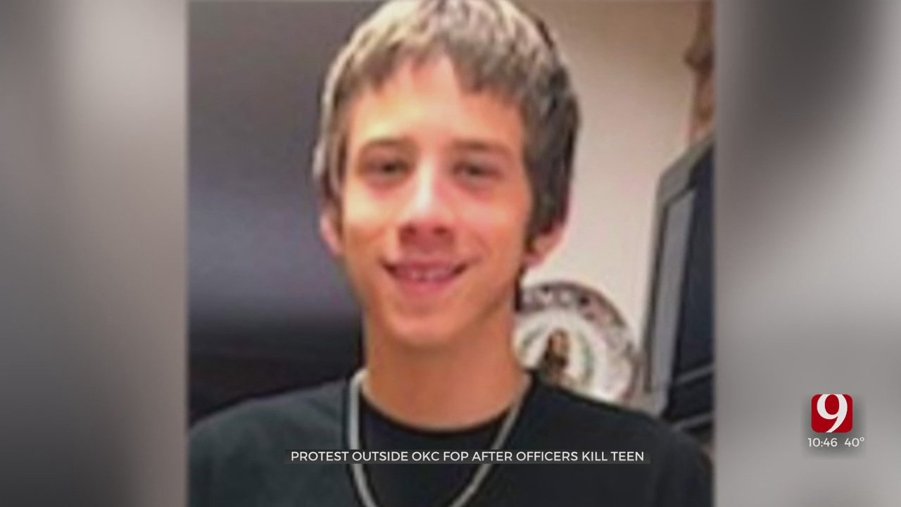 Groups Hold Protest Following Police Killing Of OKC Teenager