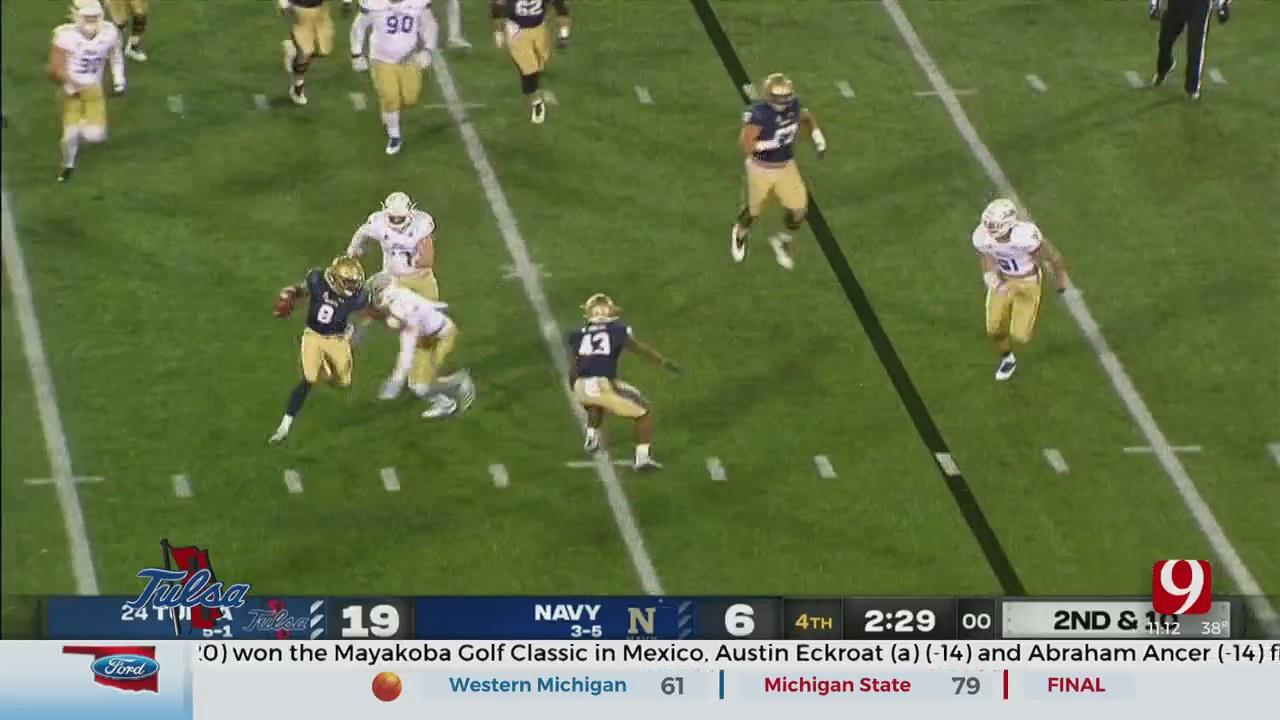 Tulsa Football Breakdown: Golden Hurricane Knock Off Navy