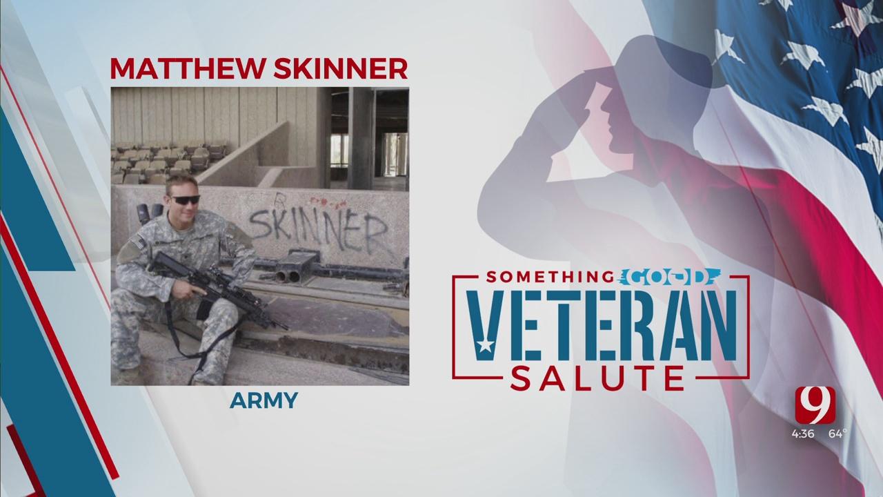Veteran Salute: Matthew Skinner