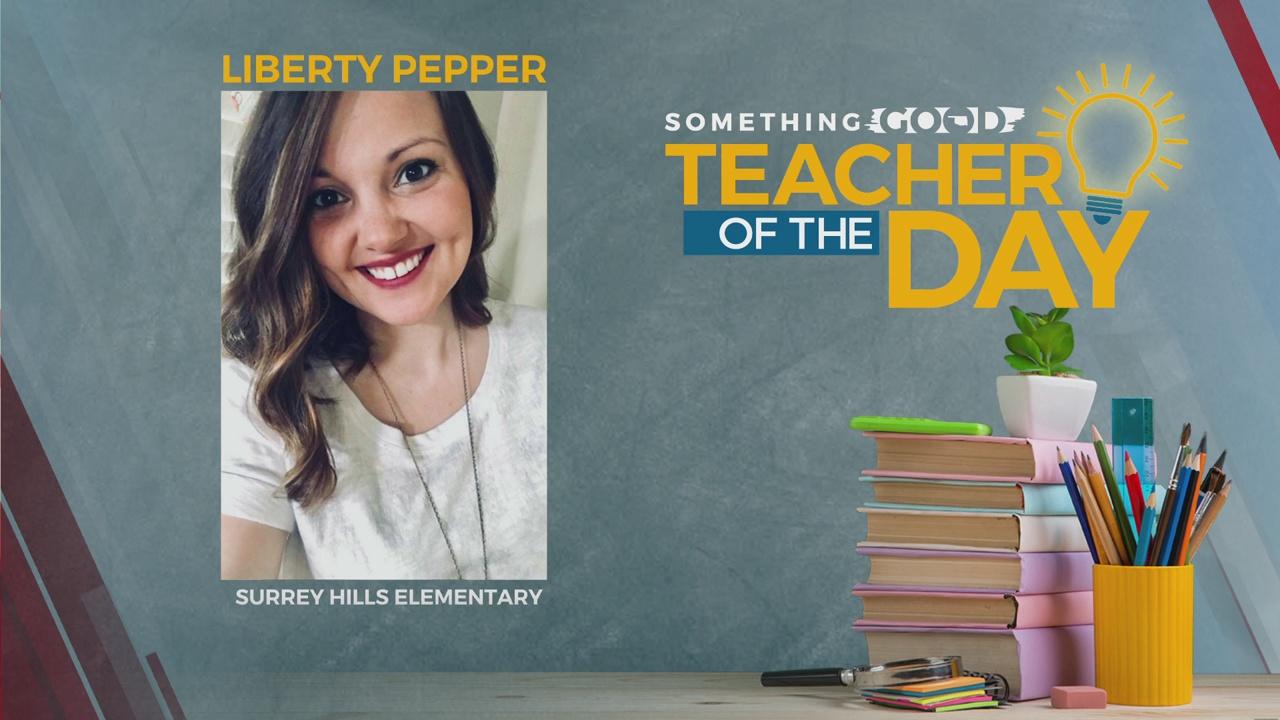 Teacher Of The Day: Liberty Pepper