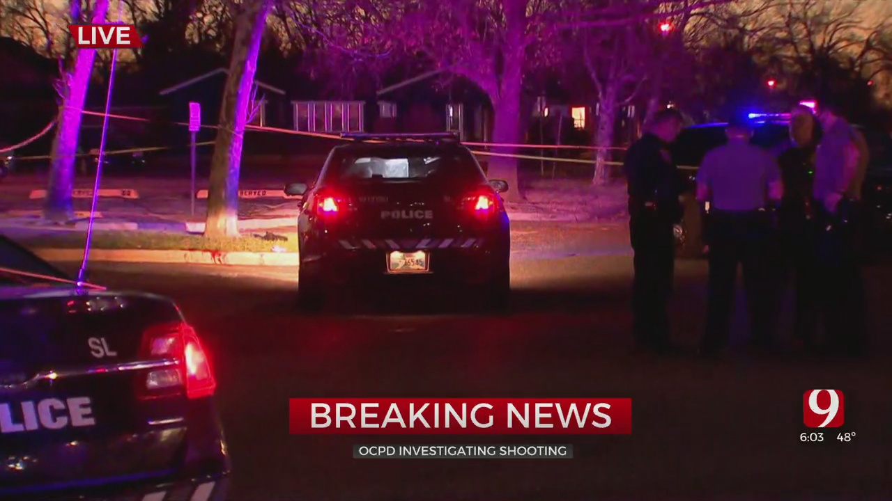 1 Victim Shot In NW Oklahoma City
