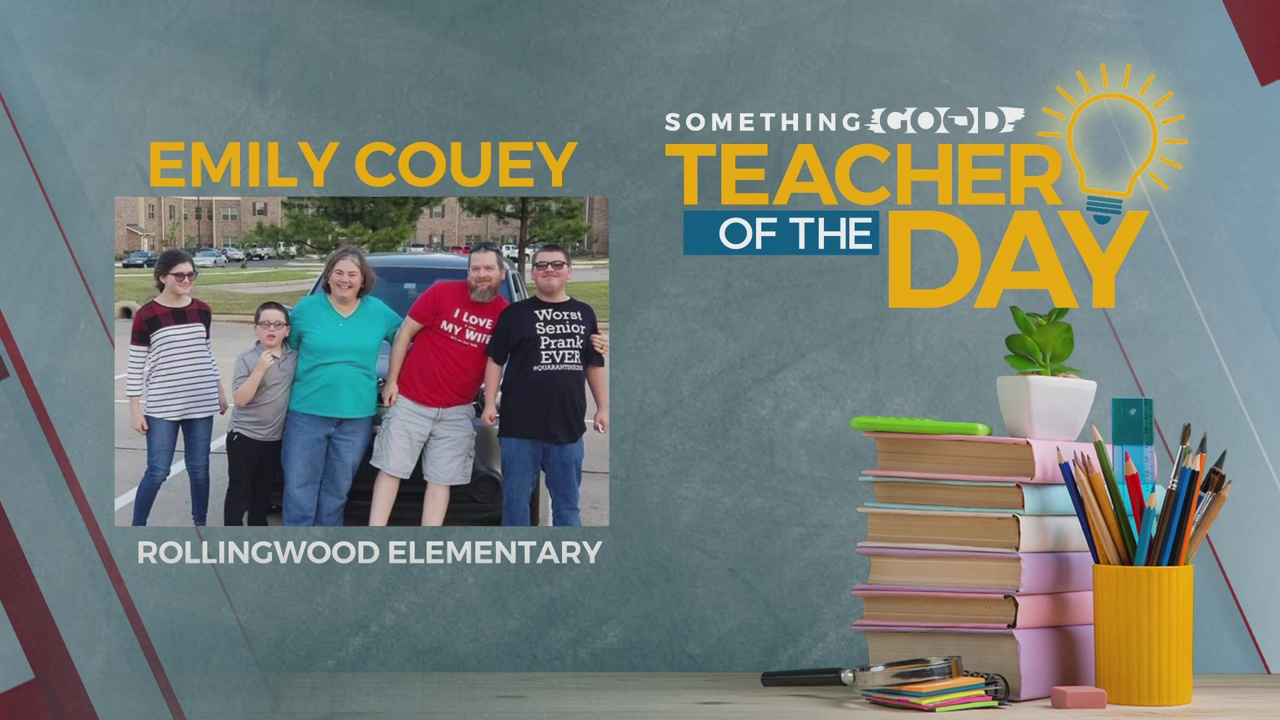 Teacher Of The Day: Emily Couey