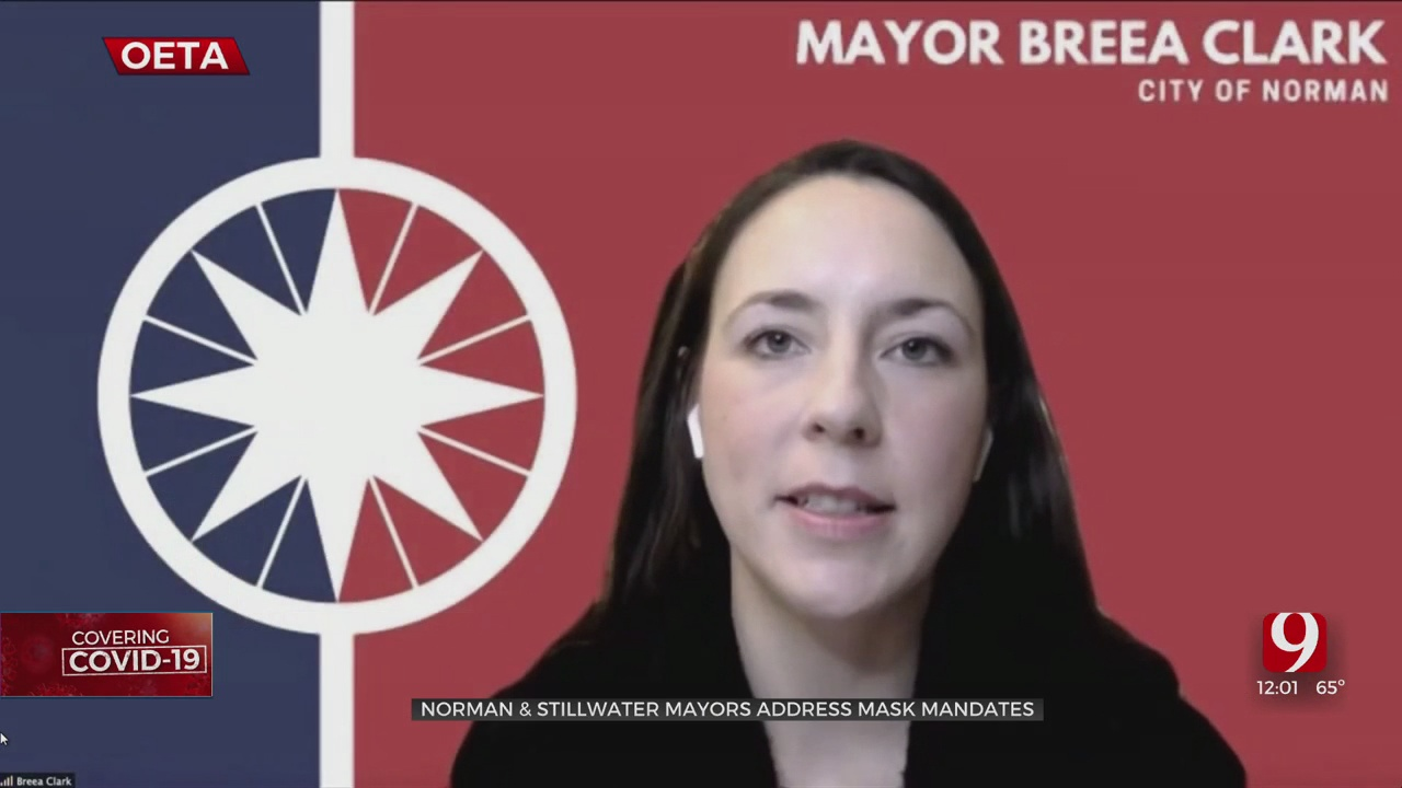 Norman, Stillwater Mayors Discuss Mask Mandate Responses