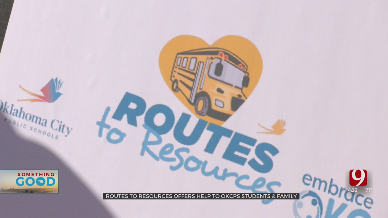 'Routes To Resources' Helps Give Assistance To OKCPS Students, Families