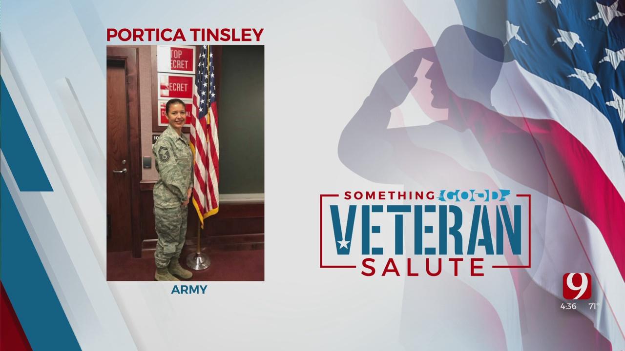 Veteran Salute: Portica Tinsley