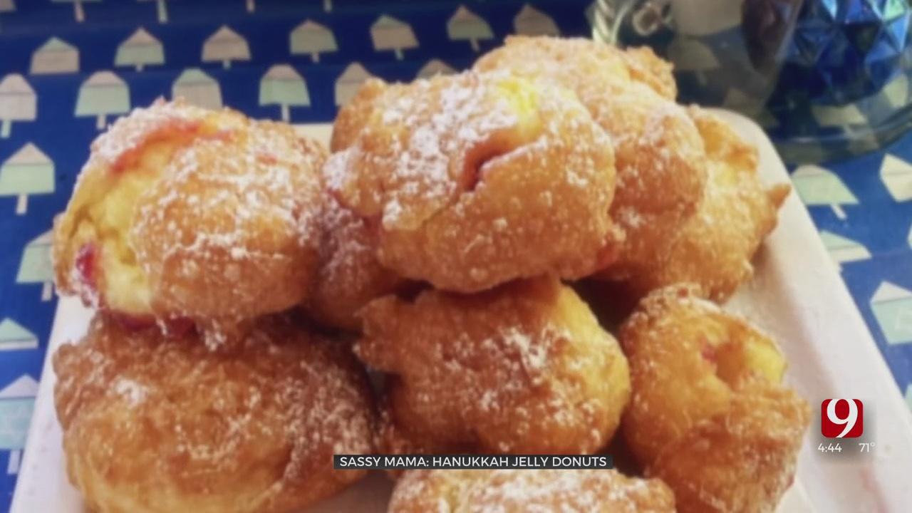 Hanukkah Jelly Donuts Part 2