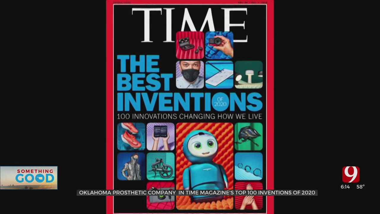 Oklahoma Prosthetic Company In Time Magazine's Top 100 Inventions Of 2020