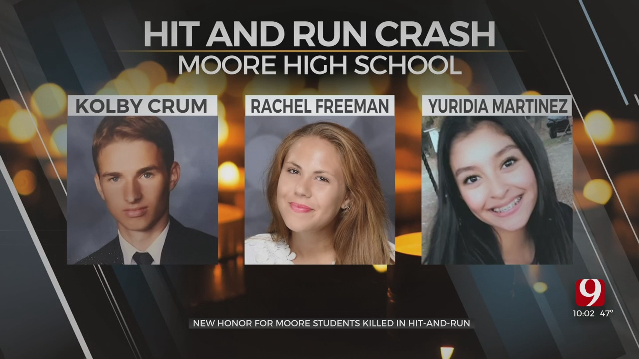 Construction Begins On Memorial For Moore High Students Killed In February Hit-And-Run