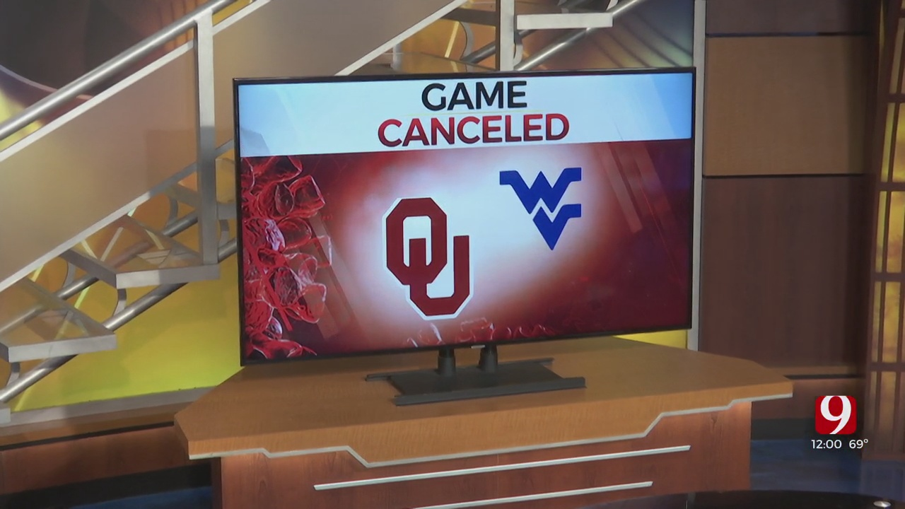 OU Football Game Against West Virginia Officially Canceled