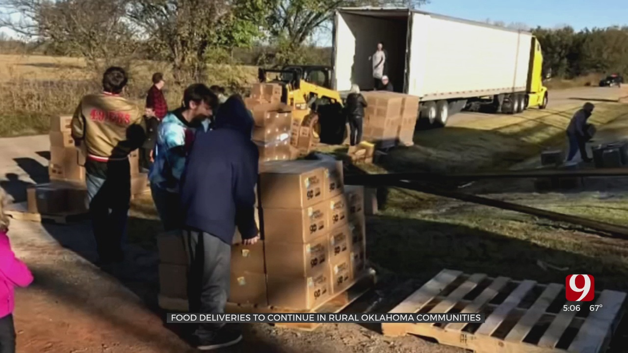 OKC, Rural Churches Band Together To Continue Food Distribution