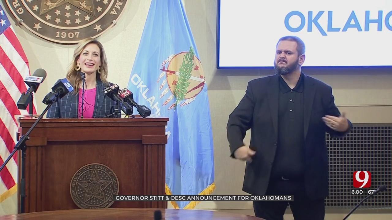 Gov. Stitt, State Health Leaders Urge Precautions Ahead Of 1st COVID-19 Vaccine Distribution