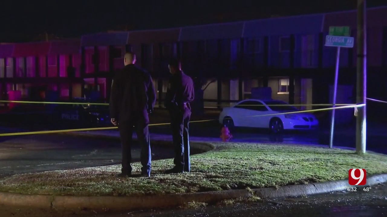 1 Shot Overnight At NW OKC Apartment Complex