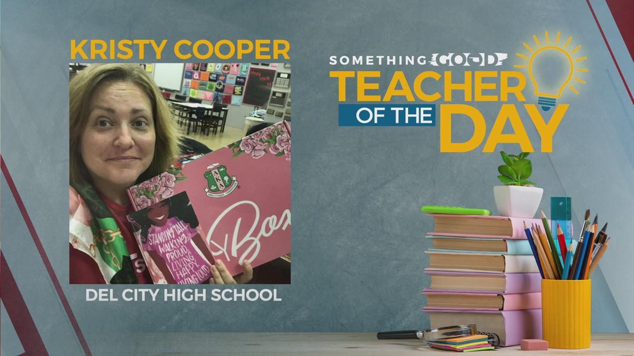 Teacher Of The Day: Kristy Cooper