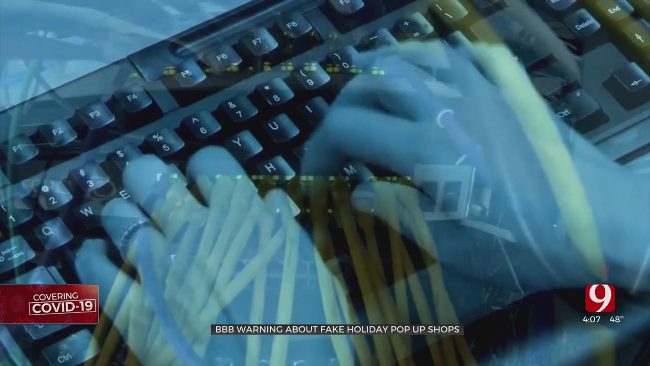 BBB Warns Online Shoppers Of Fake Holiday Pop-Up Shops