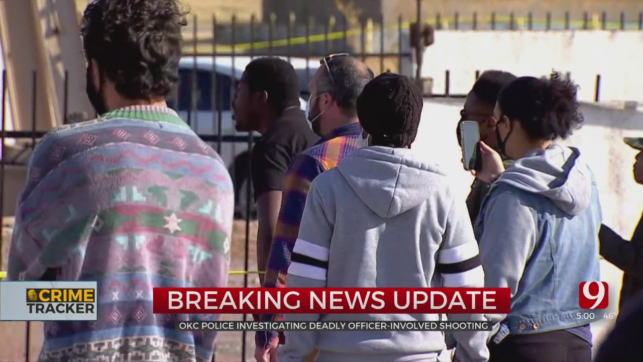 Protesters Gather After Homeless Man Was Fatally Shot By Police In NW OKC