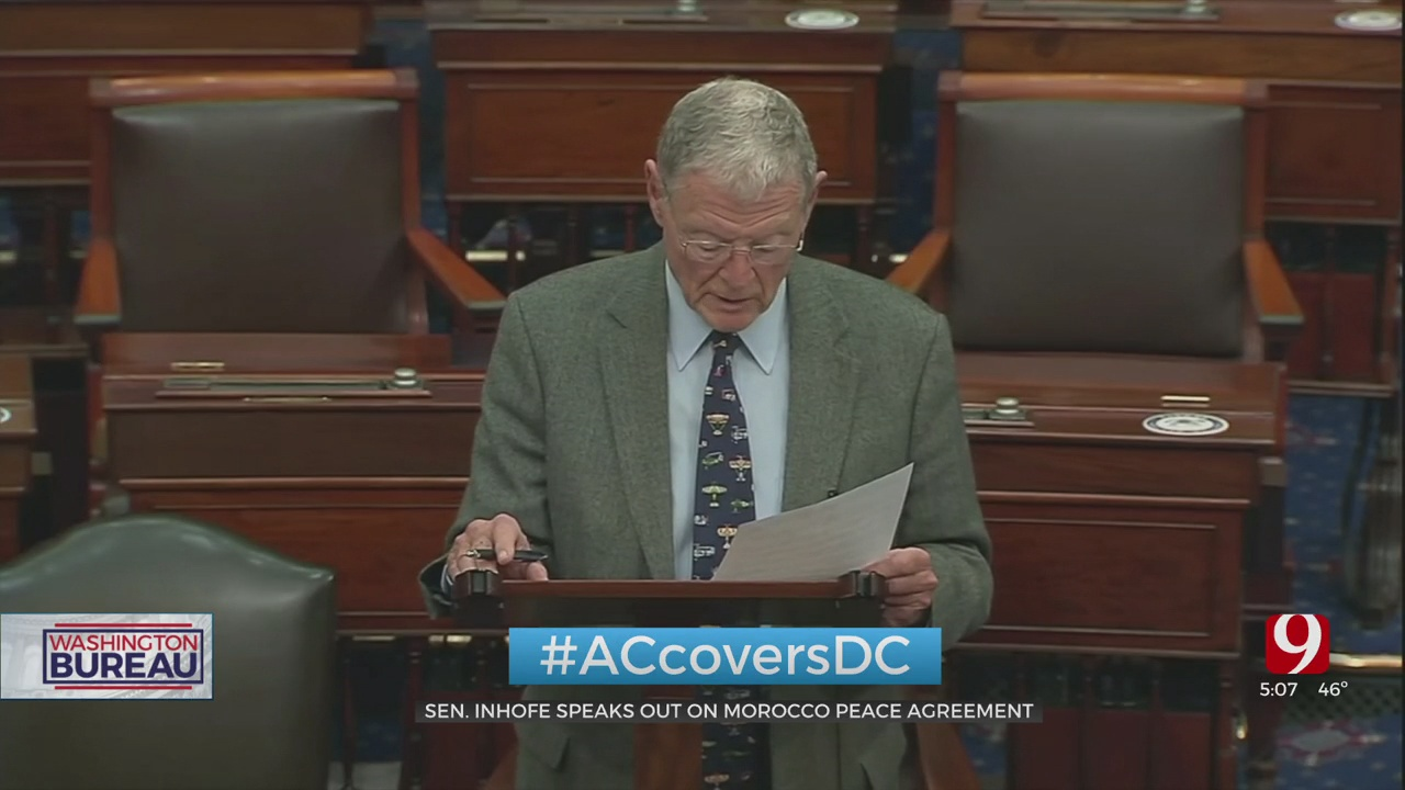 Sen. Inhofe Speaks Out On Morocco Peace Agreement