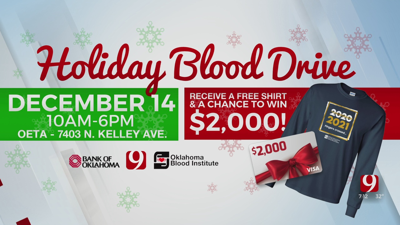 News 9 Teams With OBI For Annual Holiday Blood Drive