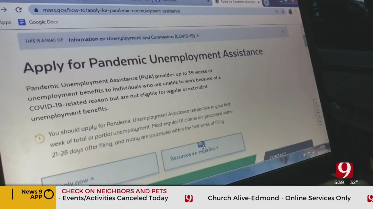 State Extended Benefits End In Oklahoma