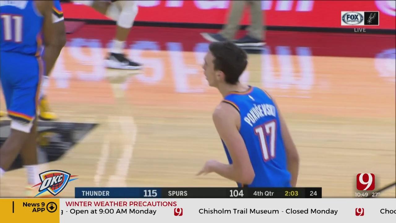 Thunder Report: OKC Rookies Standout In Preseason Debuts