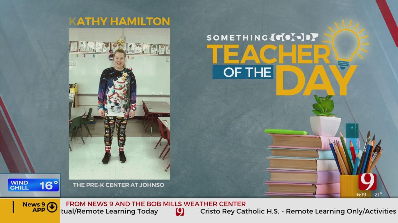Teacher Of The Day: Kathy Hamilton