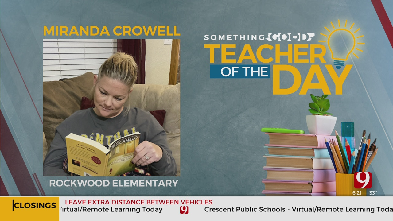 Teacher Of The Day: Miranda Crowell