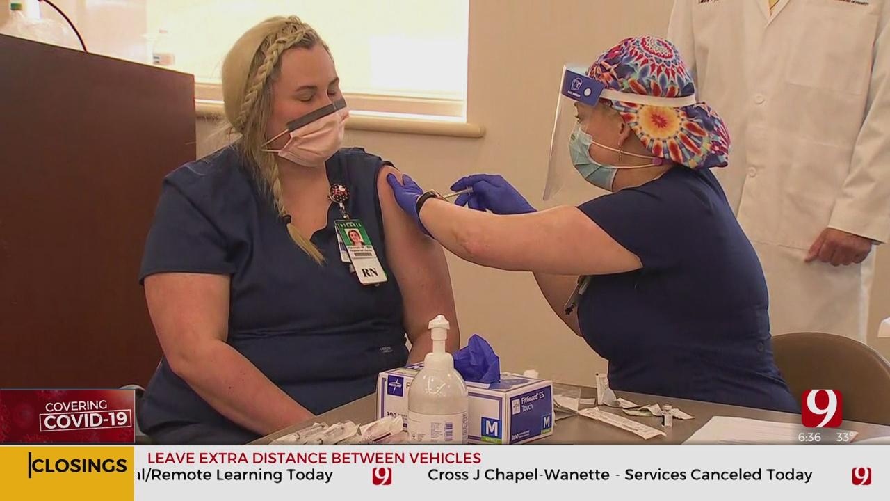 Okla. National Guard To Help Distribute COVD-19 Vaccine