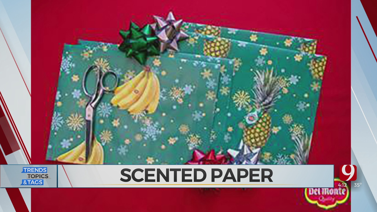 Trends, Topics & Tags: Scented Wrapping Paper?