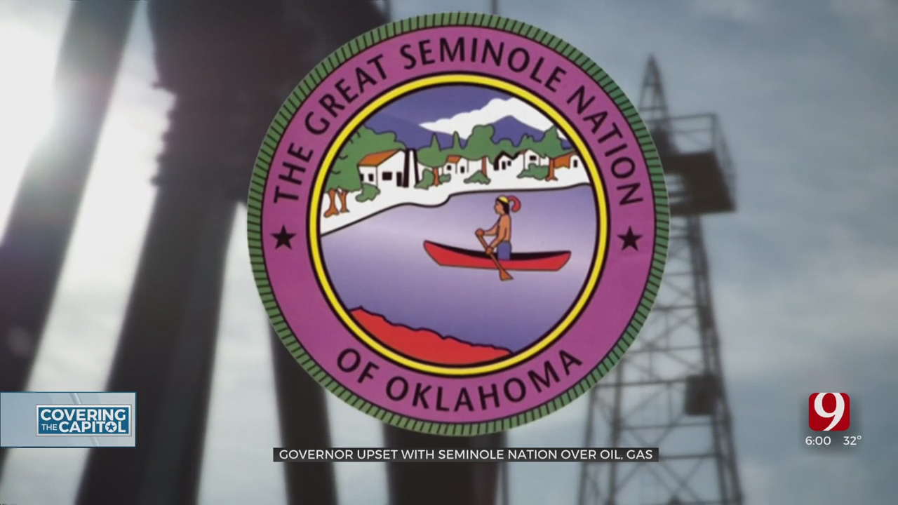 Gov. Stitt: Seminole Nation Takes 'Rogue' Action In Attempt To Tax Oil, Gas Industry