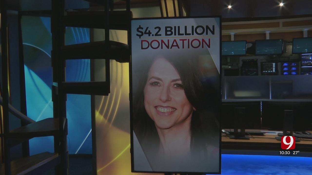 Billionaire Donates To Oklahoma Charities