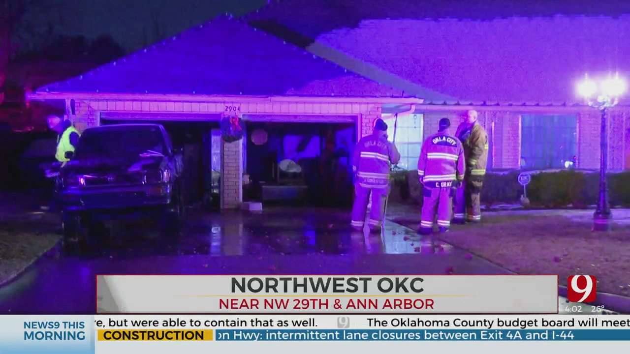 Firefighters Knock Down Overnight House Fire In NW OKC