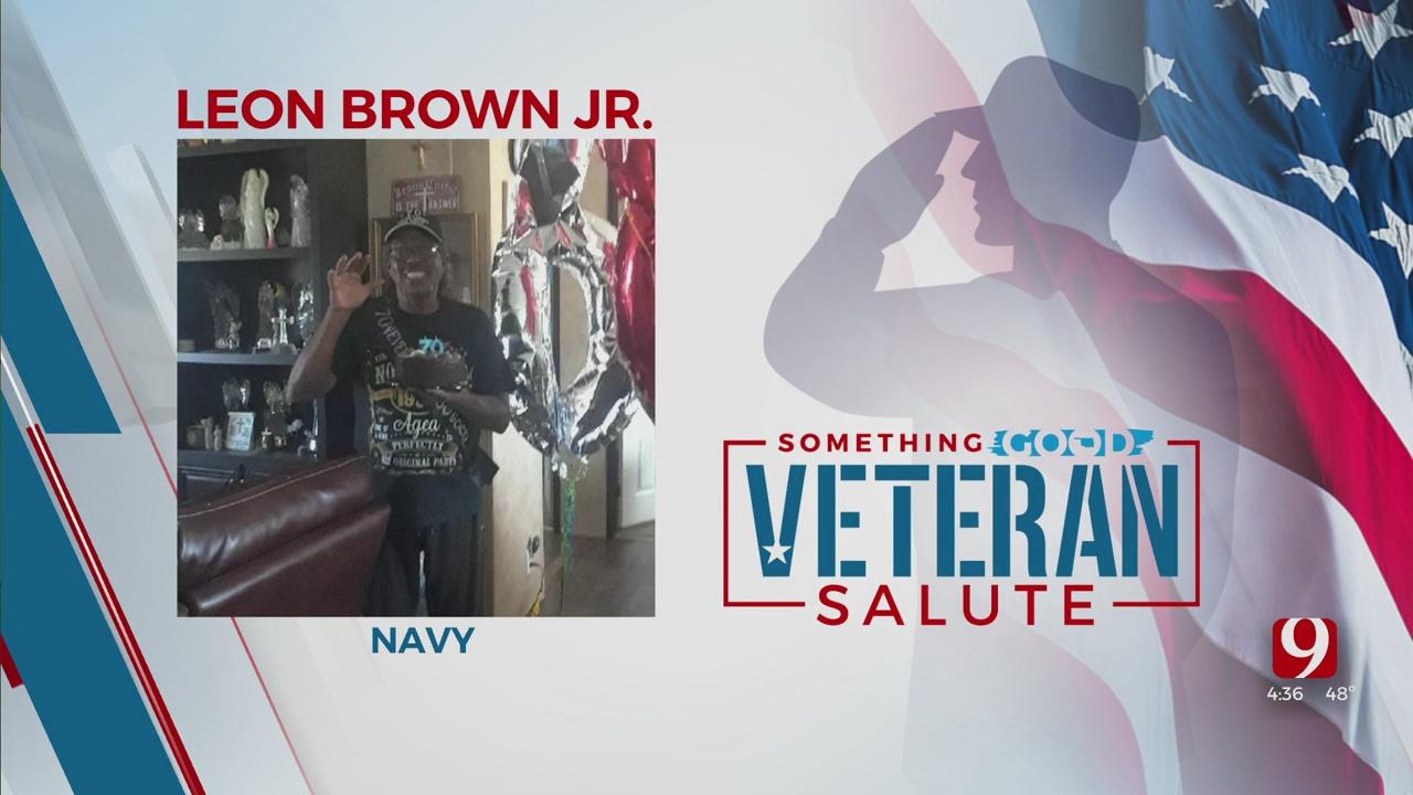 Veteran Salute: Leon Brown Jr.