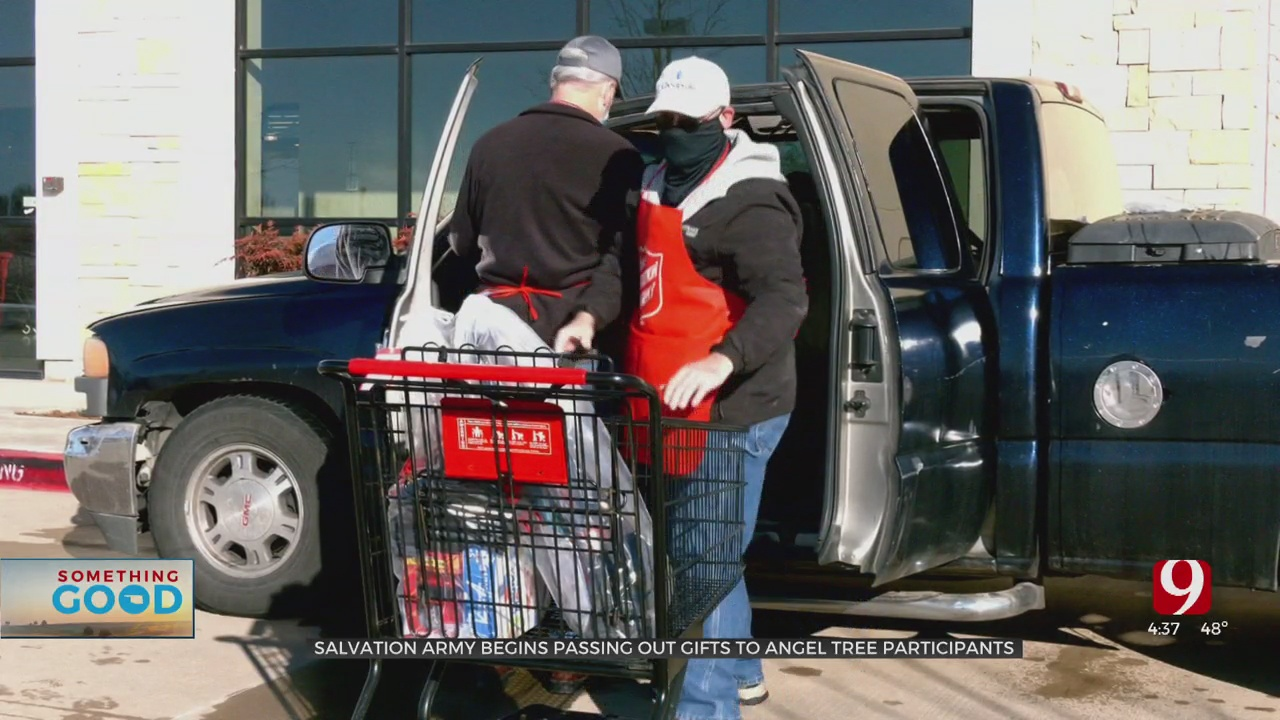 Salvation Army Begins Distributing Gifts To Angel Tree Recipients