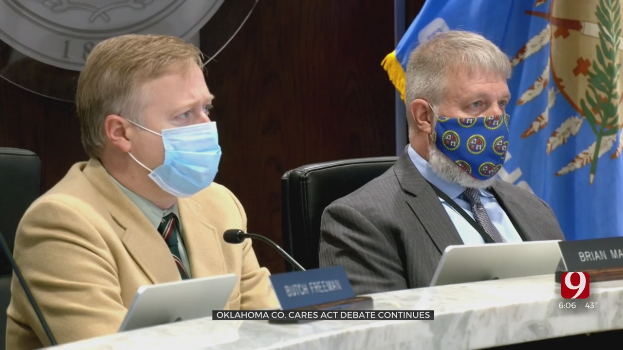 Oklahoma County Continues Discussion Of How to Spend CARES Act Funds