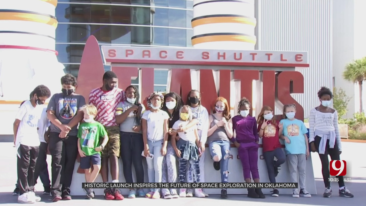 Oklahoma Students Get The Trip Of A Lifetime To NASA, SpaceX Launch