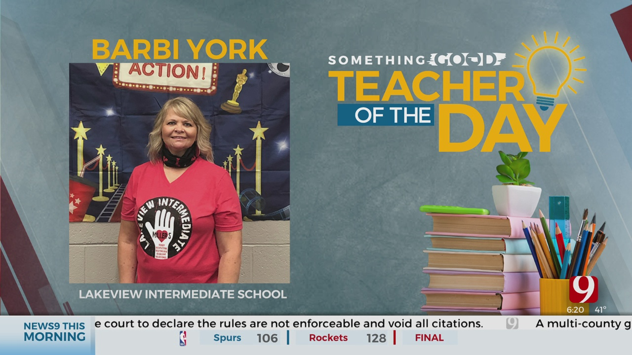 Teacher Of The Day: Barbi York