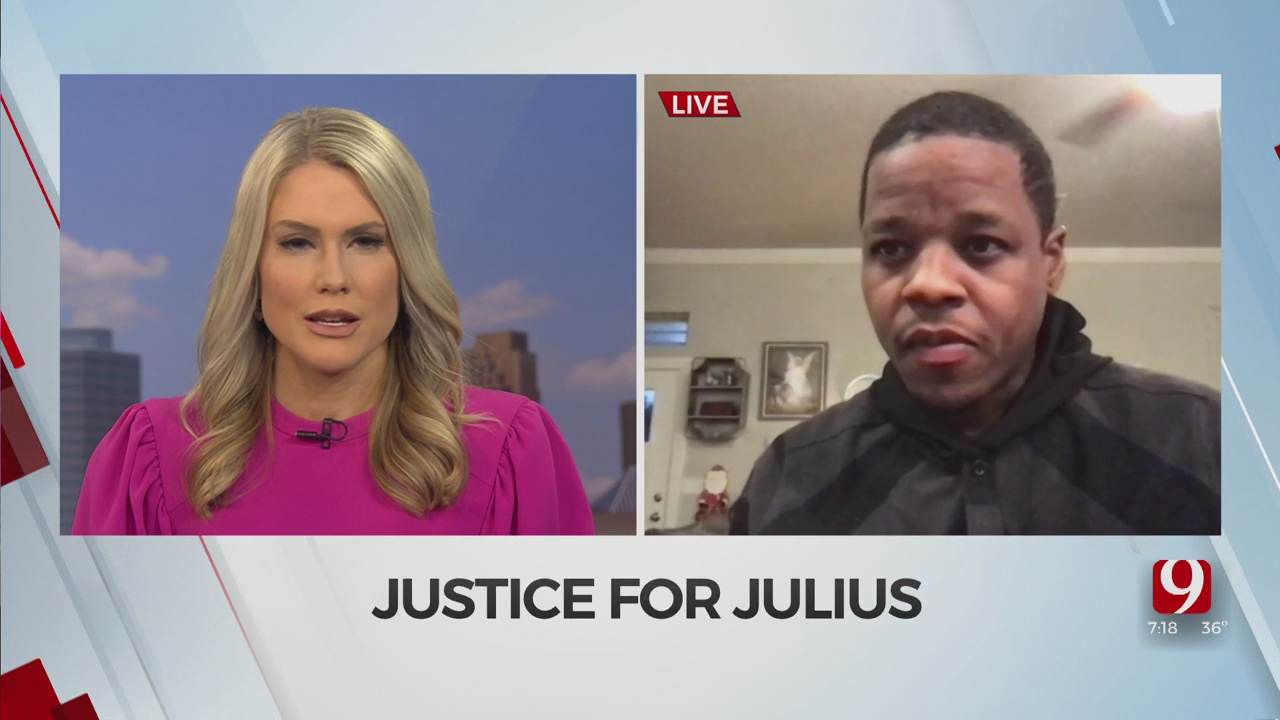 Organizers Explain The Importance 'Justice For Julius' Walk From OKC to McAlester