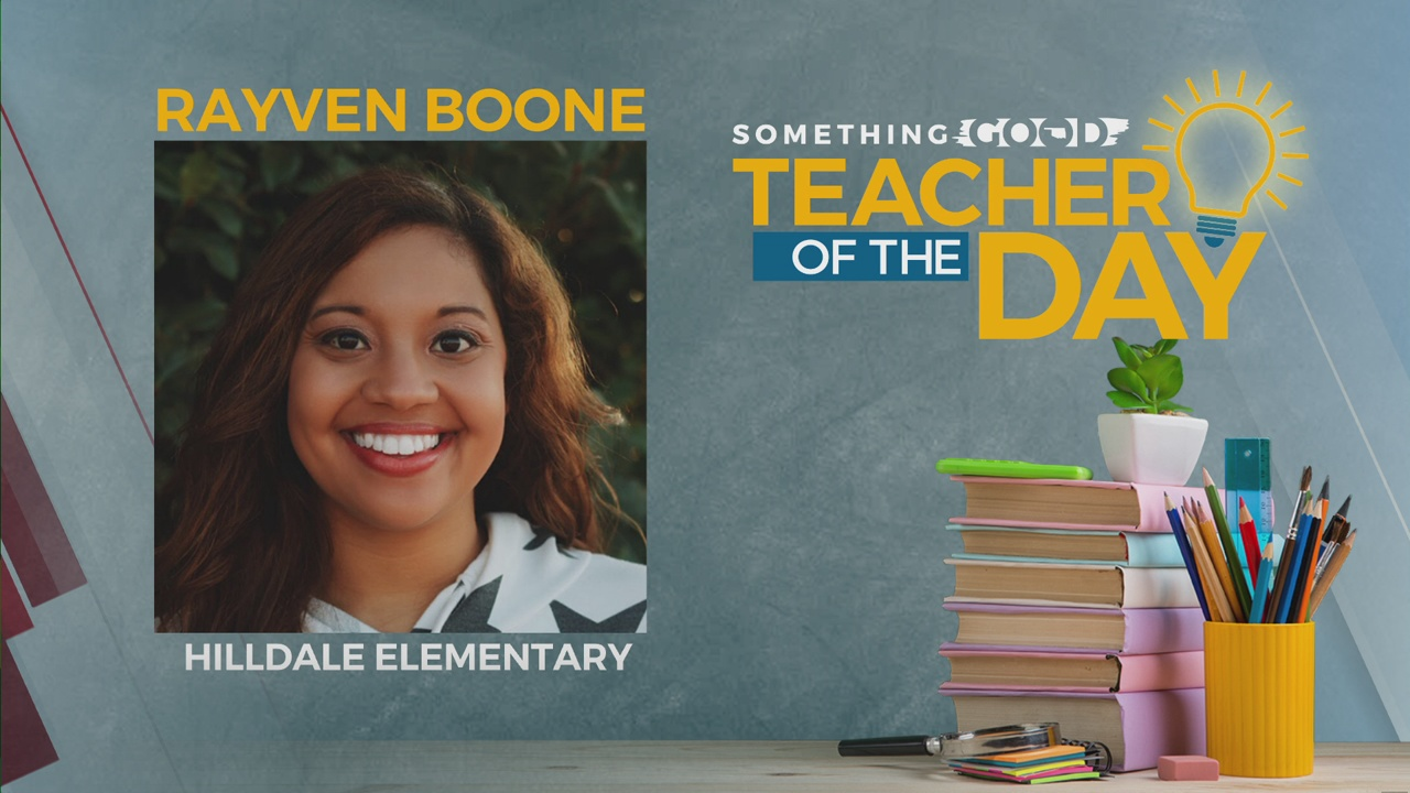 Teacher Of The Day: Rayven Boone
