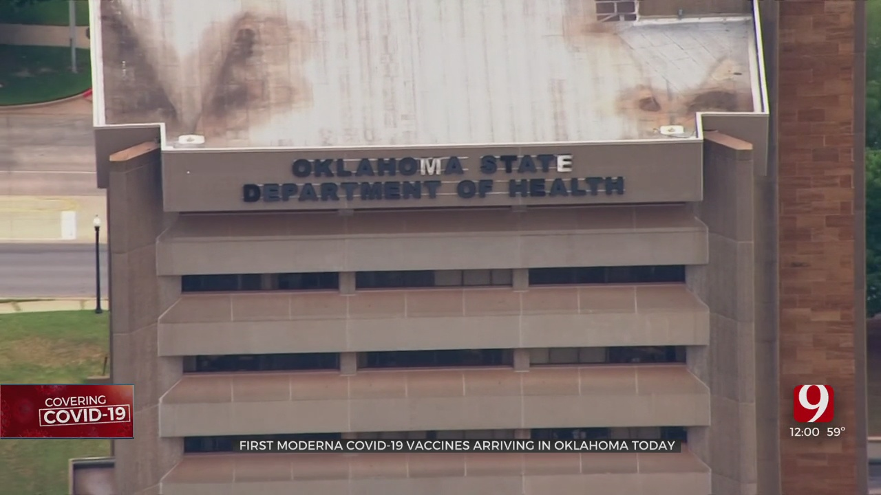 First Moderna Vaccines Arriving In Oklahoma