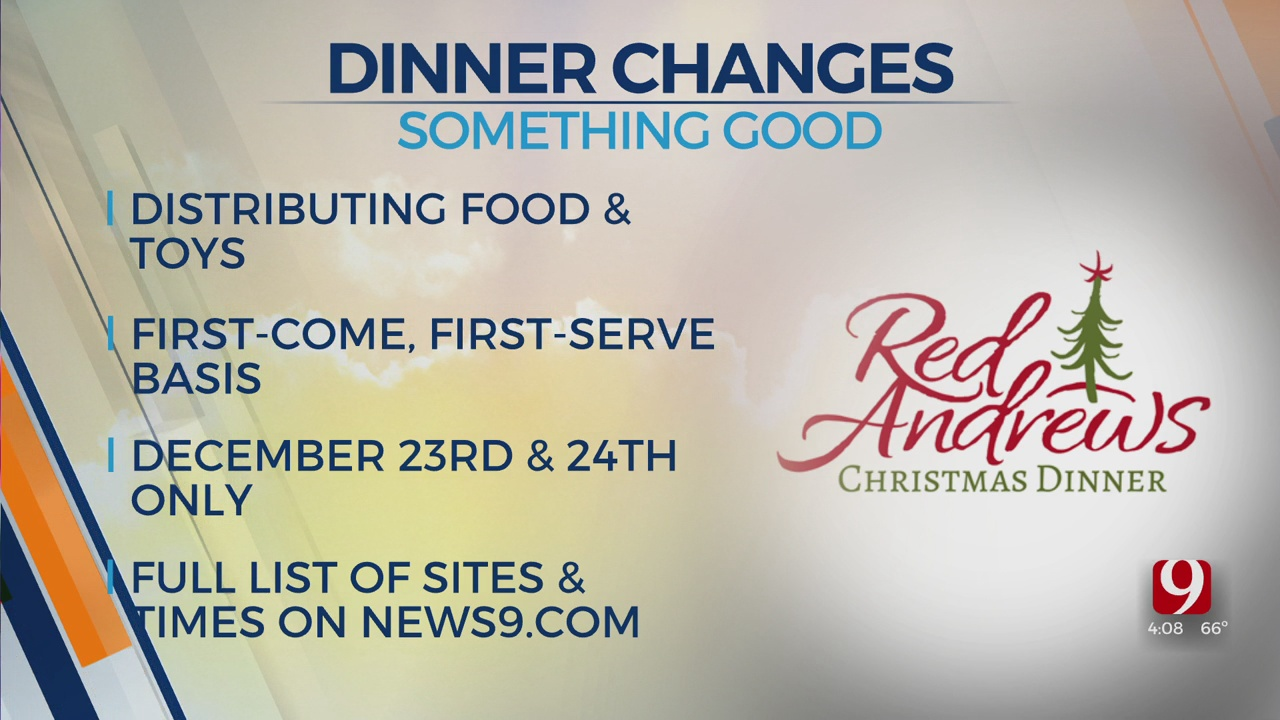 Red Andrews Christmas Dinner To Distribute Food, Toys This Year